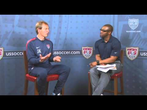 U.S. Soccer Interview with Jurgen Klinsmann: Free Play