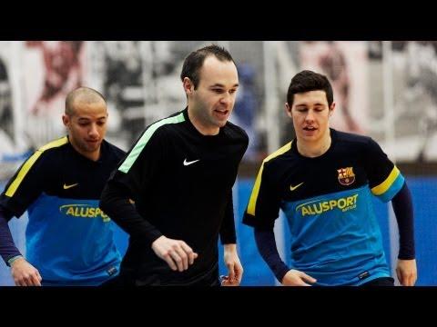 Iniesta & Futsal (Nike FC247)