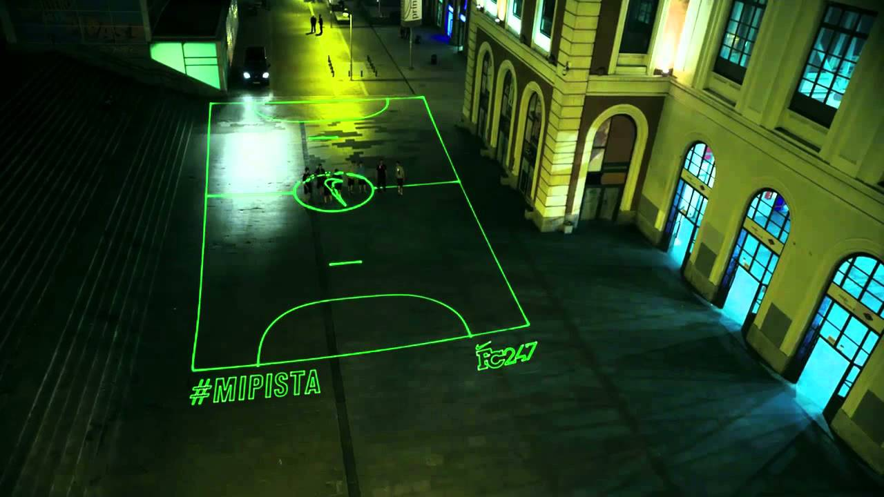 Nike Night Time Futsal Court