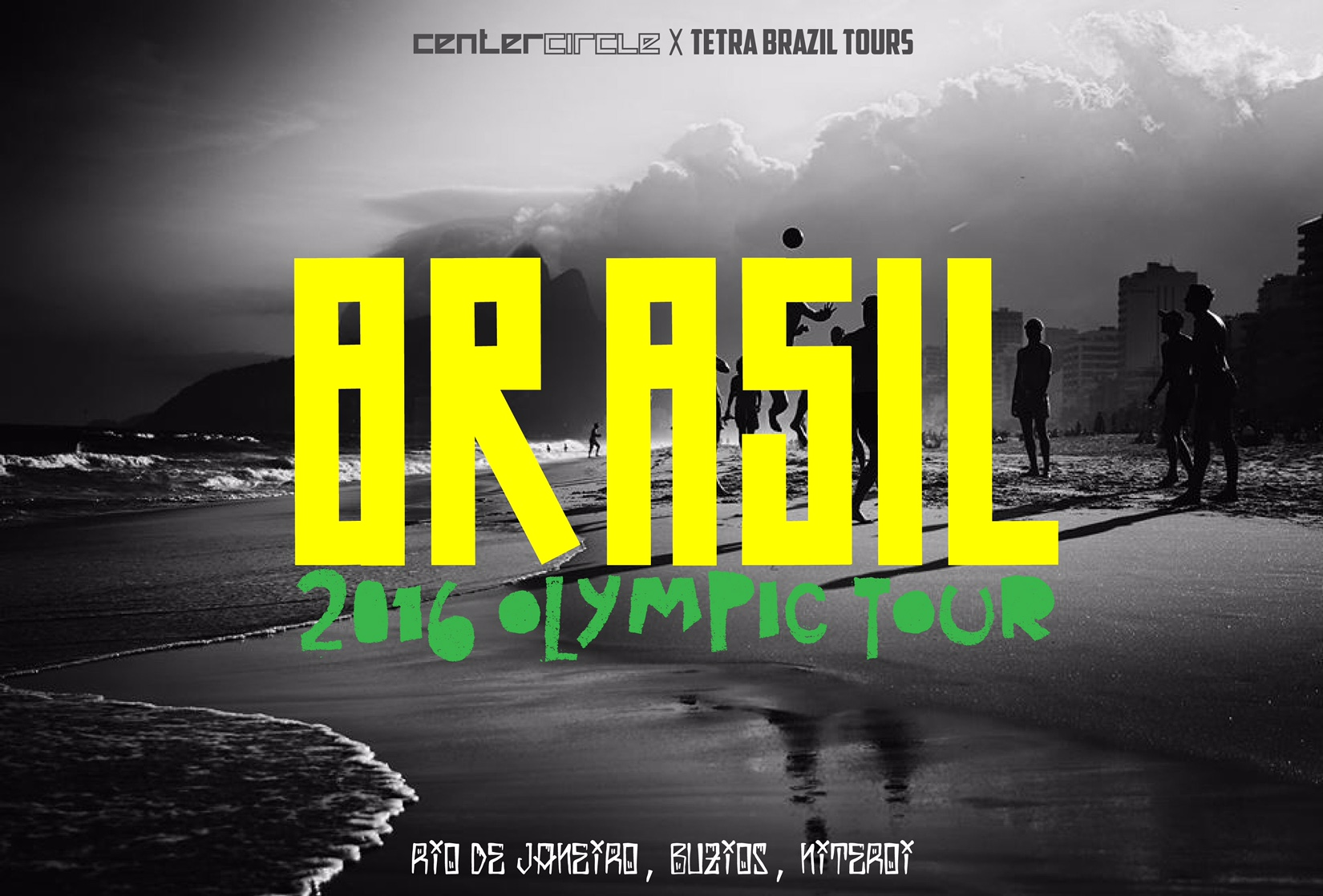 Center Circle x Tetra Brazil Tour 2016